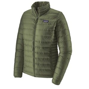 Patagonia Down Sweater Womens Jacket- camp green